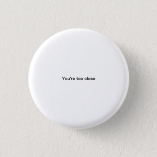 Bóton Redondo 2.54cm Você é botão engraçado do pinback da pia batismal
