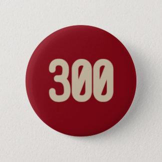 Bóton Redondo 5.08cm 300 palavras, botão do ícone de 2 minutos
