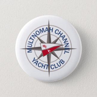 """Bóton Redondo 5.08cm 3"""" botão do logotipo com logotipo do compasso para"""