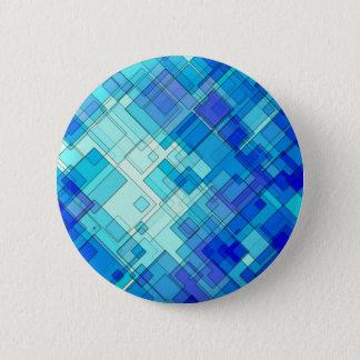 Bóton Redondo 5.08cm Abstrato do azul
