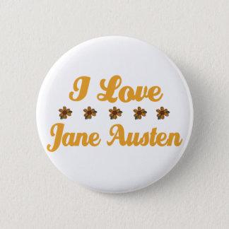 Bóton Redondo 5.08cm Amante bonito de Jane Austen