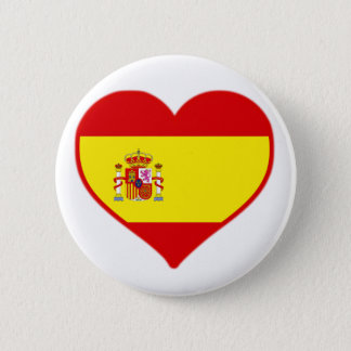 Bóton Redondo 5.08cm Amor da espanha