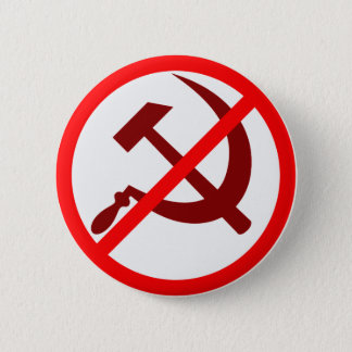 Bóton Redondo 5.08cm Anticomunista