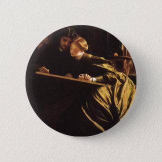 Bóton Redondo 5.08cm Arte do Victorian, a lua de mel do pintor por