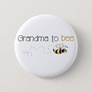 Bóton Redondo 5.08cm Avó ao botão da abelha