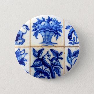 Bóton Redondo 5.08cm Azulejos