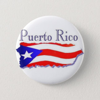 Bóton Redondo 5.08cm Bandeira Boricua de Puerto Rico