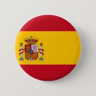 Bóton Redondo 5.08cm Bandeira da espanha