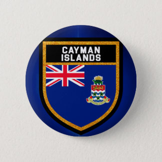 Bóton Redondo 5.08cm Bandeira de Cayman Islands