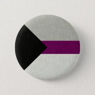 Bóton Redondo 5.08cm Bandeira de Demisexual