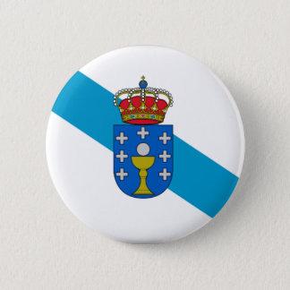 Bóton Redondo 5.08cm Bandeira de Galiza (espanha)