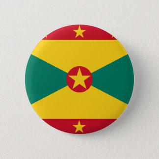 Bóton Redondo 5.08cm Bandeira de Grenada