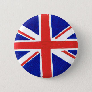 Bóton Redondo 5.08cm Bandeira de WJ Reino Unido