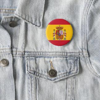 Bóton Redondo 5.08cm Bandeira espanhola