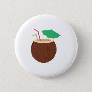 Bóton Redondo 5.08cm Bebida do coco