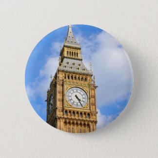 Bóton Redondo 5.08cm Big Ben em Londres, Reino Unido
