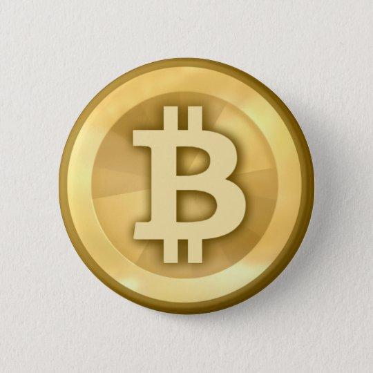 Bóton Redondo 5.08cm Bitcoin Pin