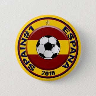 Bóton Redondo 5.08cm Bola de futebol do número 1 do futebol da espanha