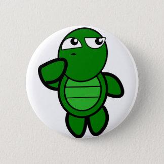 Bóton Redondo 5.08cm botão bonito da tartaruga