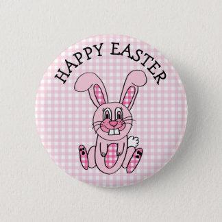 Bóton Redondo 5.08cm Botão cor-de-rosa do coelho de coelho do guingão
