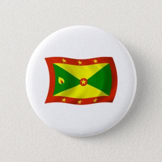 Bóton Redondo 5.08cm Botão da bandeira de Grenada