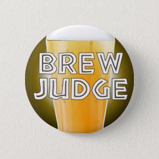 Bóton Redondo 5.08cm Botão da competição da cervejaria do juiz da