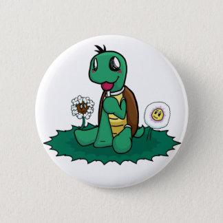 Bóton Redondo 5.08cm Botão da tartaruga