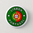 Bóton Redondo 5.08cm Botão de Lisboa Portugal