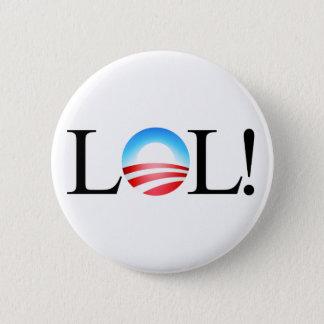 Bóton Redondo 5.08cm Botão de LOL Obama
