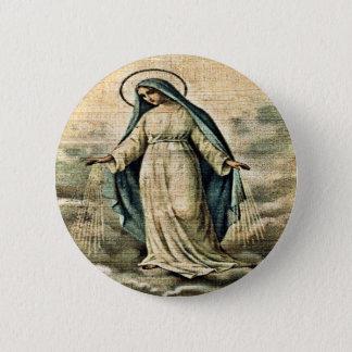 Bóton Redondo 5.08cm Botão de Mary