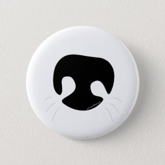 Bóton Redondo 5.08cm Botão do nariz de cão