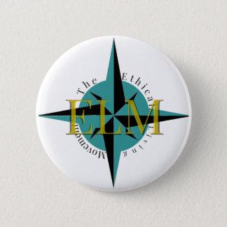 Bóton Redondo 5.08cm Botão do Pin do logotipo do OLMO