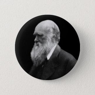 Bóton Redondo 5.08cm Botão do retrato de Darwin