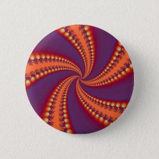 Bóton Redondo 5.08cm Botão espiral das iluminações