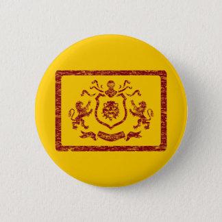 Bóton Redondo 5.08cm Botão heráldico medieval do Blazon