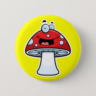 Bóton Redondo 5.08cm Botão mágico do cogumelo
