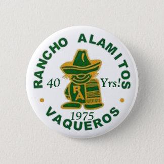 Bóton Redondo 5.08cm Botões 1975 da reunião de Rancho Alamitos