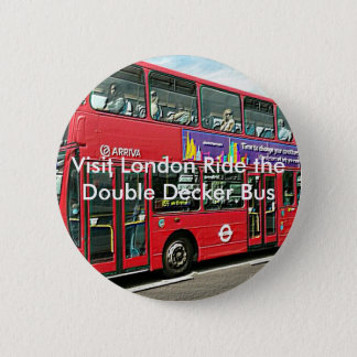 Bóton Redondo 5.08cm Botões do ônibus do autocarro de dois andares de
