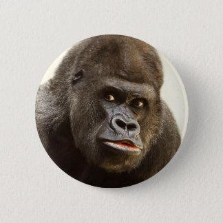 Bóton Redondo 5.08cm Botões engraçados do gorila