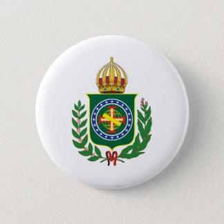 Bóton Redondo 5.08cm Brasão Império do Brasil