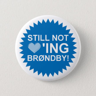 Bóton Redondo 5.08cm Brøndby ainda de amor! Crachá