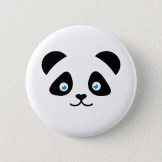 Bóton Redondo 5.08cm cara do urso de panda