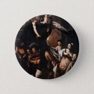Bóton Redondo 5.08cm Caravaggio - os sete trabalhos da pintura do