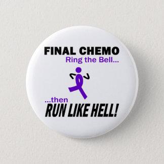 Bóton Redondo 5.08cm Chemo final funciona muito - a fita violeta
