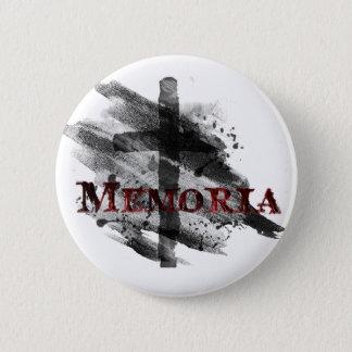 Bóton Redondo 5.08cm Cinza Buton de Memoria
