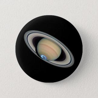 Bóton Redondo 5.08cm ~ de SATURN do PLANETA (sistema solar)