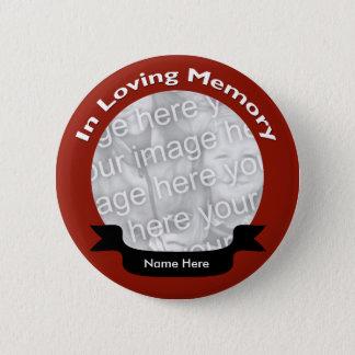 Bóton Redondo 5.08cm Em botão de memória Loving