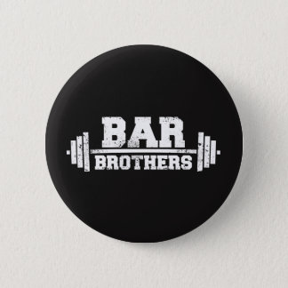 Bóton Redondo 5.08cm equipe do exercício do gym dos irmãos do bar