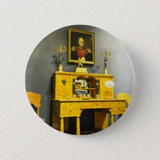 Bóton Redondo 5.08cm Escritório de Tsarskoye Selo do palácio de