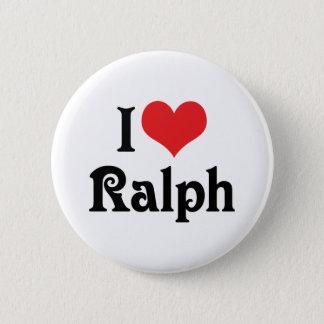 Bóton Redondo 5.08cm Eu amo Ralph